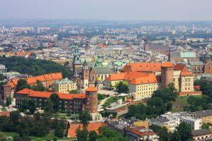 Blick auf den Wawel.