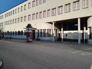 Oskar Schindlers Fabrik in der Lipowa Str. Nr. 4. Wer Schindlers Liste geschaut hat, kennt dieses Gebäude.