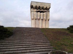 Denkmal für die Insassen des Lagers Plaszow